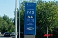 В Оренбурге цена за ночь на газомоторное топливо на некоторых заправках выросла на 3 рубля.