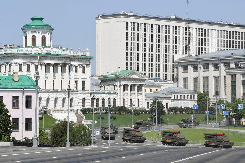 Зенитно-ракетные комплексы (ЗРК) Бук-М3.