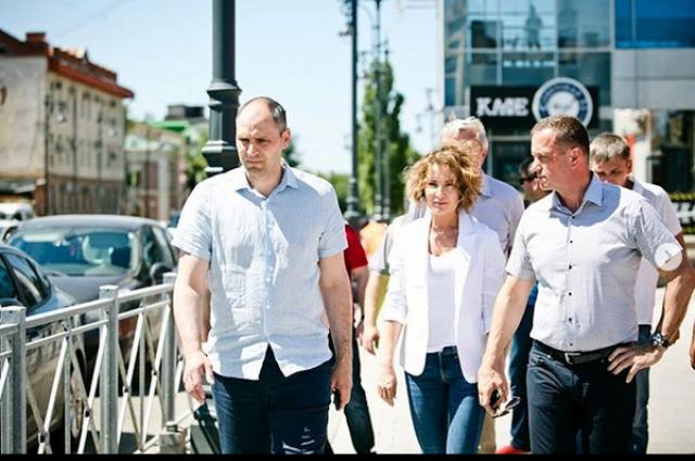 ГИБДД примет решение по дорожным барьерам в центре Оренбурга.