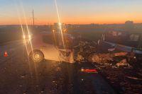 По факту смертельного ДТП на трассе «Бугуруслан-Бузулук» возбуждено дело.