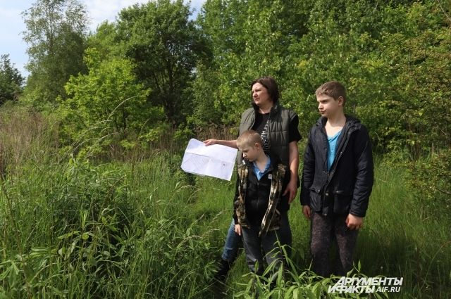 Любовь Зубенко: «Где-то здесь надо искать наш участок»