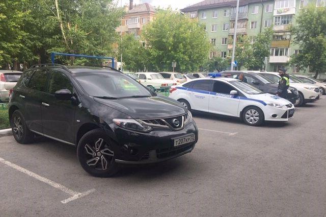 В Тюмени оштрафовали водителя Nissan Murano, выехавшего на встречную