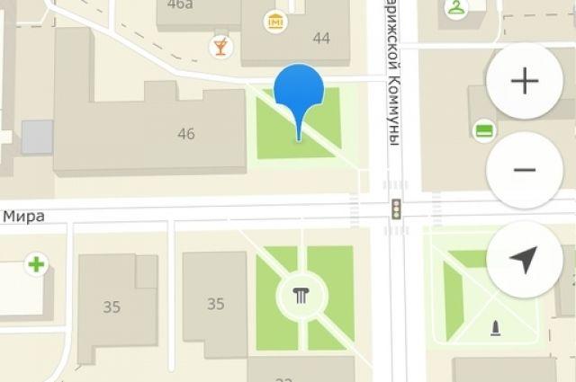 Сквер возле Красноярской межрайонной поликлиники №5 назовут в честь врачей.