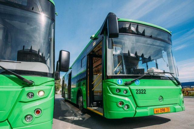 Автобусы в Тюмени 24 июня будут работать по расписанию выходного дня