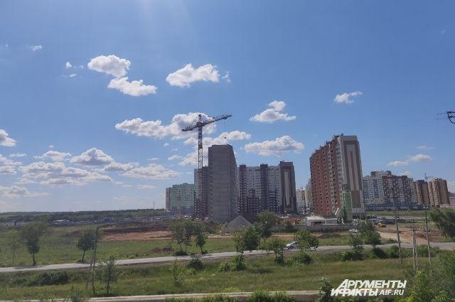 По данным на 1 июня в регионе строилось 282 многоэтажных дома.
