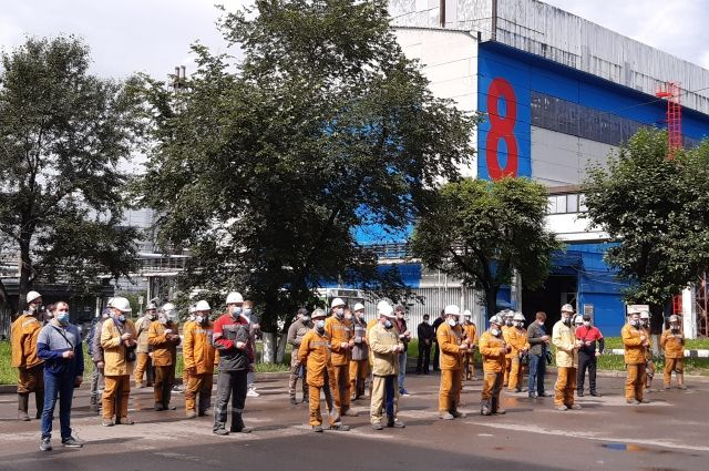 22 июня на площади перед первым цехоуправлением КрАЗа прошла минута молчания.