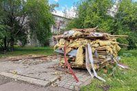 В Октябрьском районе с начала года снесли десять ларьков.