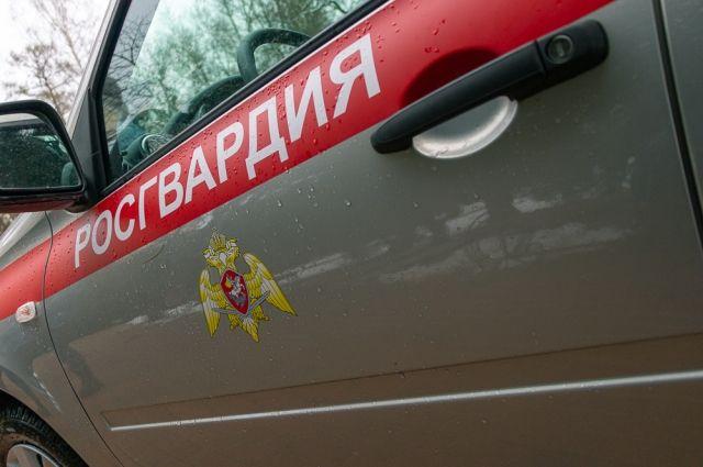 Росгвардия задержала её в Дзержинском районе.