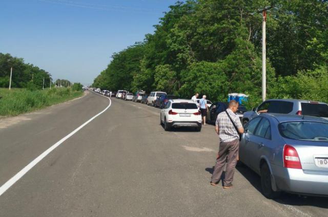 ОРДО откроет КПП на въезд только на один день: подробности