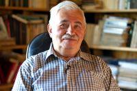 Писатель Анатолий Салуцкий.