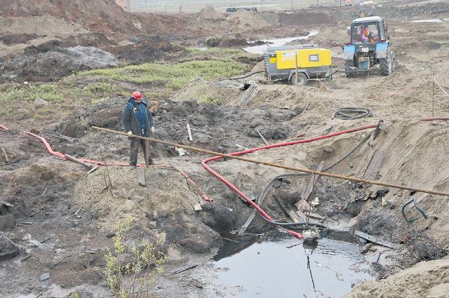 Второй этап ликвидации последствий разлива нефтепродуктов в Норильске подходит к концу.