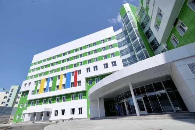 Строительство областного перинатального центра в Новосибирске идет с опережением графика.