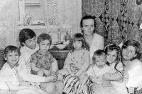 Семья Марины и Александра Левиных. 1988 г.