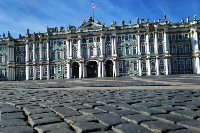 Парад пройдет на Дворцовой площади.