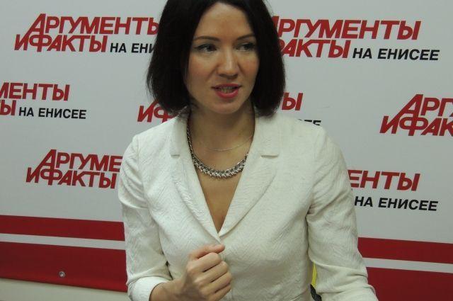 Елена Мироненко три года была министром культуры Красноярского края.