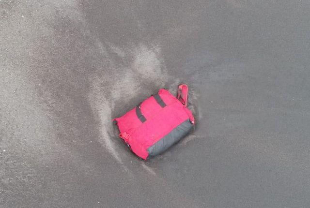 С помощью дрона обнаружили вещи пропавших моряков.