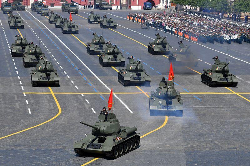 Танки Т-34.