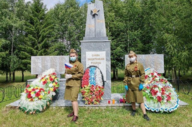 В Уватском районе рассказали о памятниках воинам-землякам
