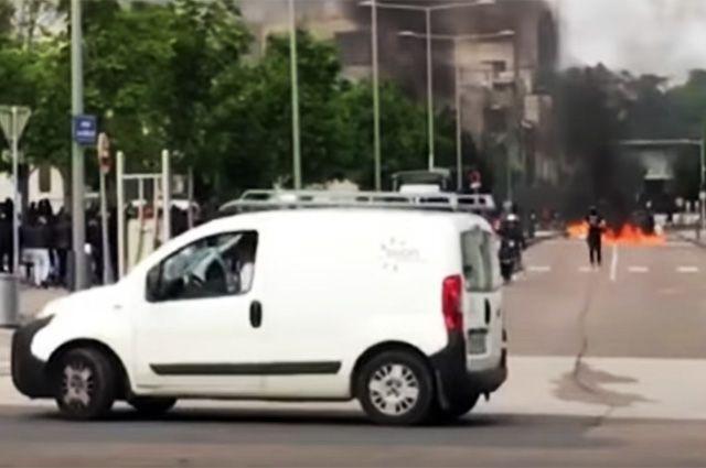 Полиция задержала в связи с событиями в Дижоне еще восемь человек