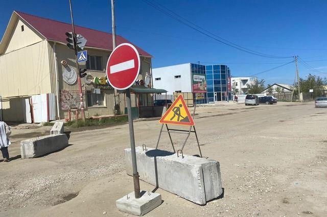 Улицу Курнатовского перекрыли, но работы еще не начались.