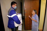 В период пандемии добровольцы оказывали помощь пожилым людям и семьям, оказавшимся в сложной жизненной ситуации.