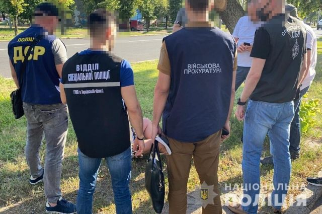 В Харьковской области задержан продавец пластида и тротила