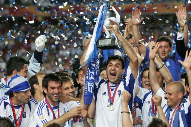Крепкий грецкий орешек: сенсационный чемпионат по футболу Евро-2004