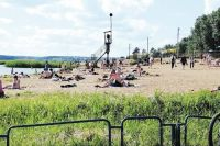 Разрешение на работу получили шесть пляжей по всей области.