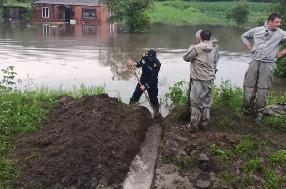 В Одесской области 24 июня также произошел паводок, в результате которого подтопило 20 частных домов и домохозяйств.