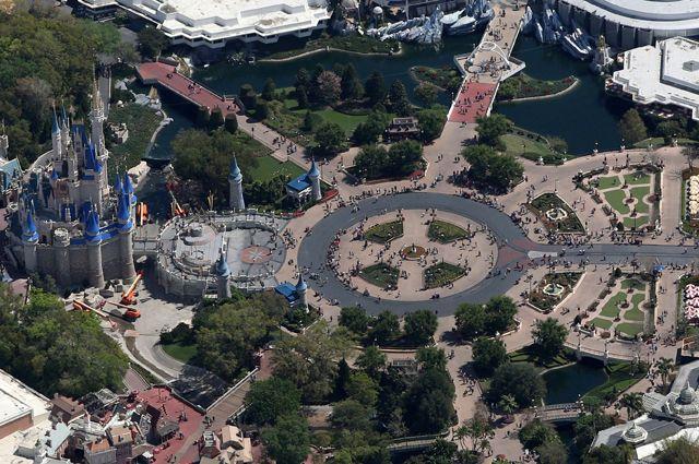 Парк компании The Walt Disney Company в Орландо.