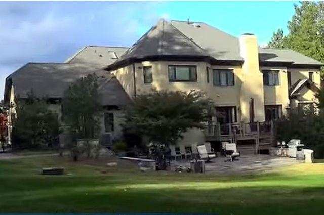 Американский дом Александра Овечкина.