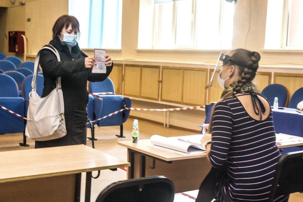 Голосование по поправкам в Конституцию РФ в Тюменской области.