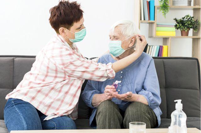 В регионе продлён режим самоизоляции для граждан старше 65 лет