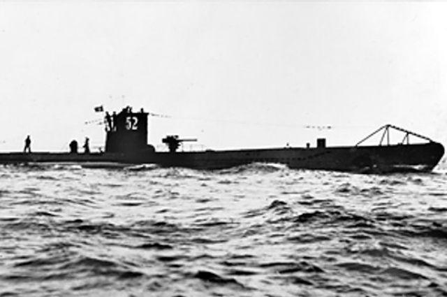 Подводная лодка U-48.