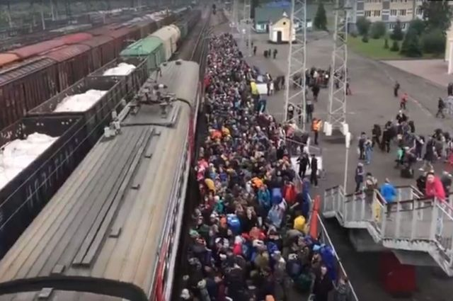 Электричка Междуреченск-Бискамжа, 12 июня 2020 года