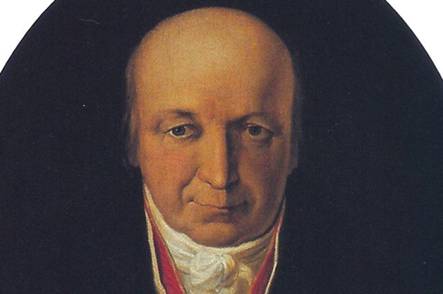 Портрет Александра Баранова. Михаил Тиханов, 1818 год.