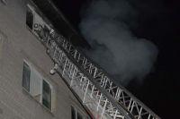 В Днепре ночью загорелось студенческое общежитие: подробности