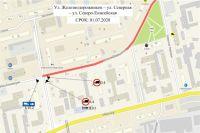 С этого момента грузикам запретят двигаться по этой улице на постоянной основе.