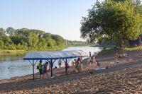 Открыт пляж «Волна» на реке Сакмара.