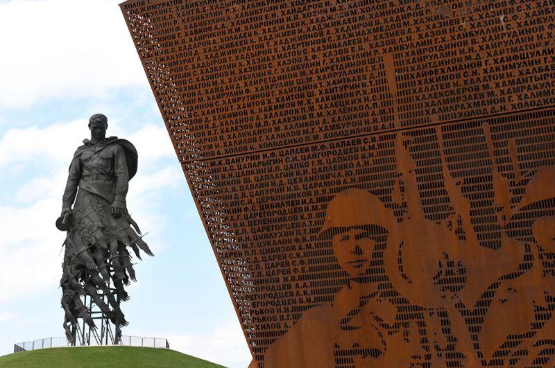 Ржевский мемориал Cоветскому солдату в Тверской области.