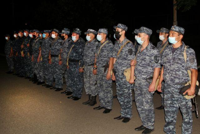 Сводный отряд полиции РА вернулся из командировки в северокавказский регион