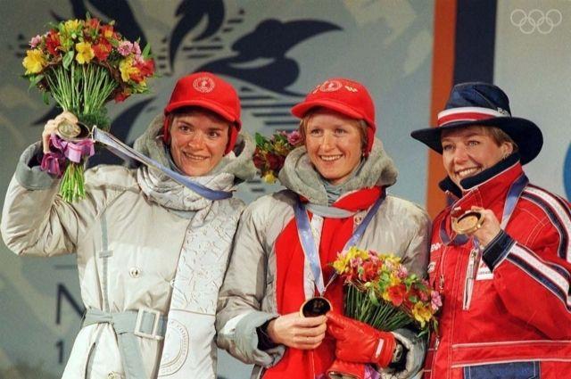 Олимпийские игры в Нагано стали триумфальными для Ольги Даниловой, которая вернулась в спорт после рождения двух сыновей.