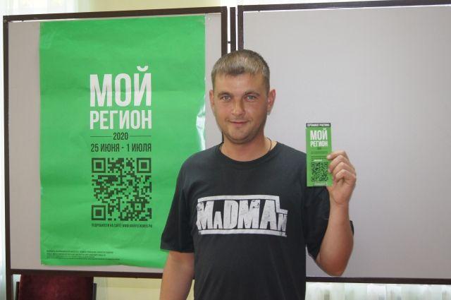 Рамаз Процкий проголосовал на избирательном участке в Черлаке и выиграл машину.