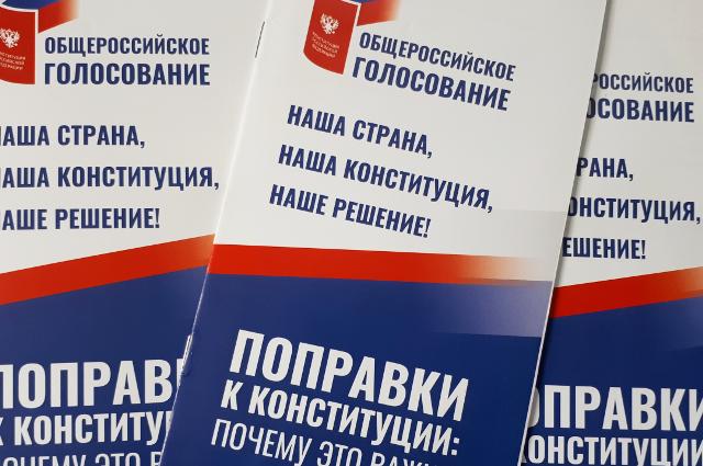 В Тюменской области многие голосуют из дома