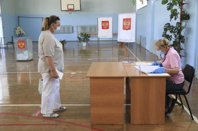 В селах Тюменской области при голосовании соблюдают все меры безопасности