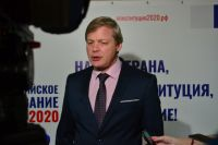 Секретарь Омского избиркома Александр Христолюбов.