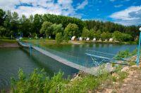 Живописные места на берегу реки Бия.