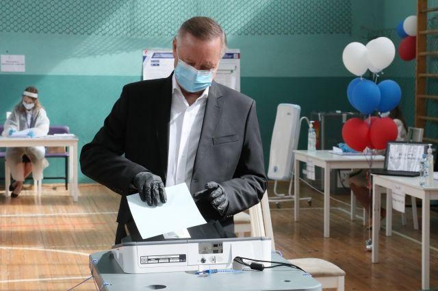 Основная задача Смольного заключалась в создании условий для комфортного и безопасного голосования.