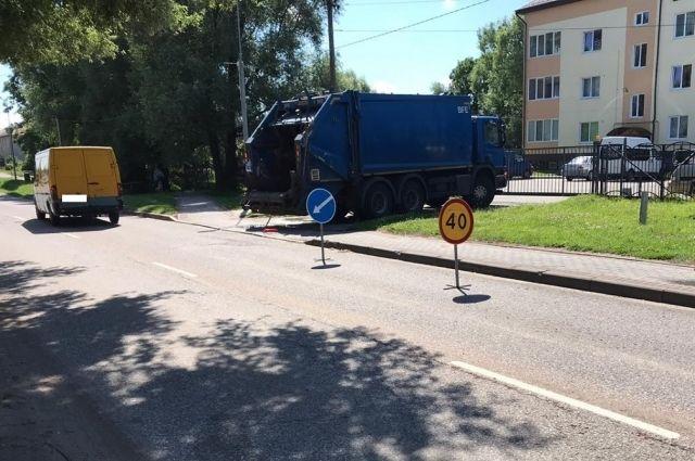 В ДТП в Гурьевском районе пострадал велосипедист