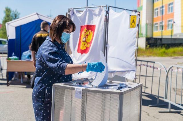 Жители округа даже до основного дня голосования показали неплохую явку на участках